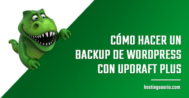 como hacer backup wordpress updraft