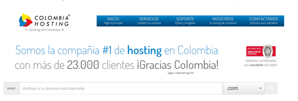 colombia-hosting